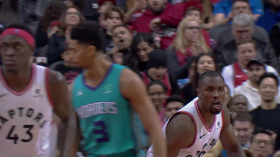 Raptors Highlights: OG Finds Ibaka - March 24, 2019