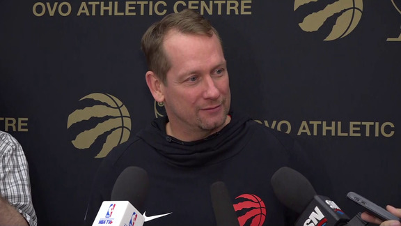 Raptors Practice: Nick Nurse - March 25, 2019