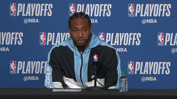 Raptors Post-Game: Kawhi Leonard - April 16, 2019