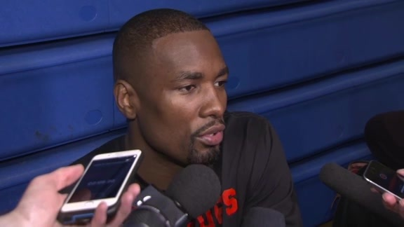 Raptors Shootaround: Serge Ibaka - April 19, 2019