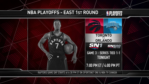 Raptors Game Preview: Toronto at Orlando (Game 3) - April 19, 2019