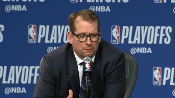 Raptors Post-Game: Nick Nurse - April 19, 2019