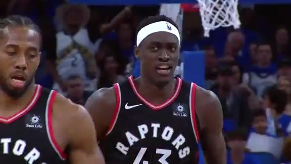 Raptors Highlights: Siakam Alley-Oop - April 21, 2019