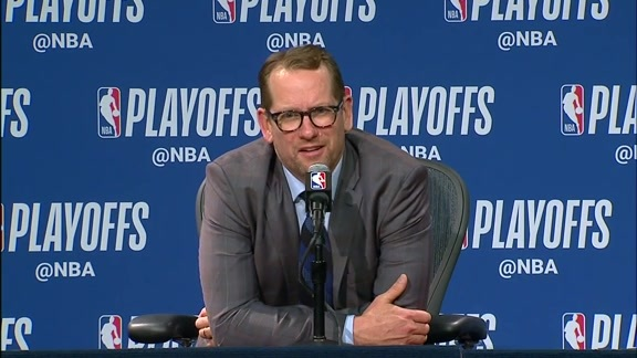 Raptors Post-Game: Nick Nurse - April 21, 2019