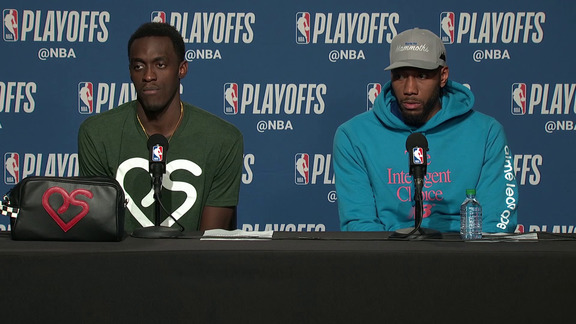 Raptors Post-Game: Pascal Siakam and Kawhi Leonard - April 23, 2019