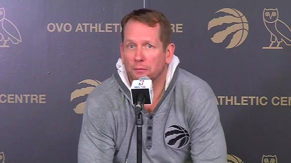 Raptors Practice: Nick Nurse - April 25, 2019
