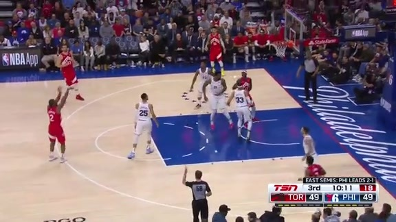 Game Highlights: Raptors at 76ers (Game 4) - May 5, 2019