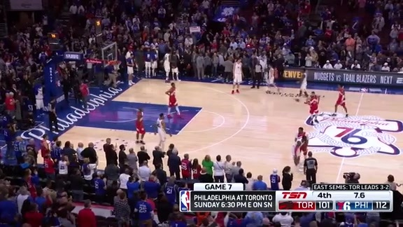 Game Highlights: Raptors at 76ers (Game 6) - May 9, 2019