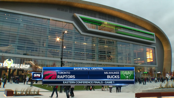 Game Highlights: Raptors at Bucks (Game 1) - May 15, 2019