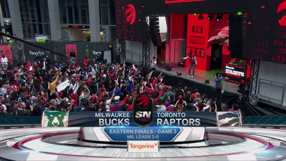 Game Highlights: Raptors at Bucks (Game 3) - May 19, 2019