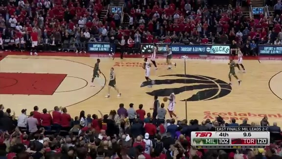 Game Highlights: Raptors vs Bucks (Game 4) - May 21, 2019