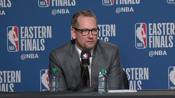 Raptors Post-Game: Nick Nurse - May 21, 2019