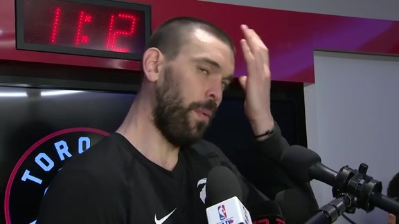 Raptors Post-Game: Marc Gasol - May 21, 2019
