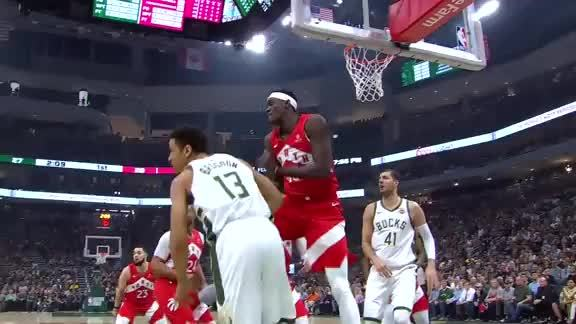 Raptors Highlights: Siakam Block - May 23, 2019