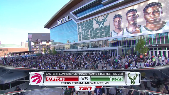 Game Highlights: Raptors at Bucks (Game 5) - May 23, 2019
