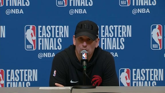 Raptors Post-Game: Nick Nurse - May 23, 2019