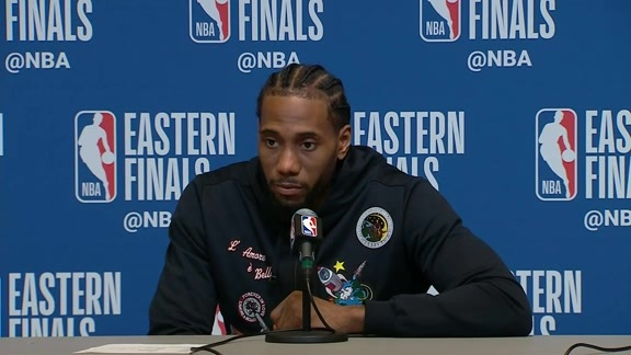 Raptors Post-Game: Kawhi Leonard - May 23, 2019
