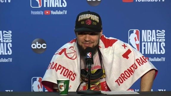 Raptors Post-Game: Fred VanVleet - June 13, 2019