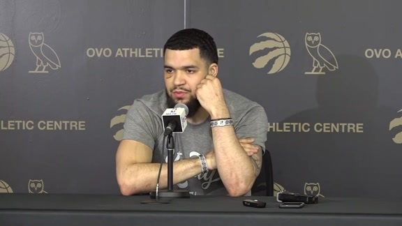 End of Season Availability: Fred VanVleet - June 16, 2019
