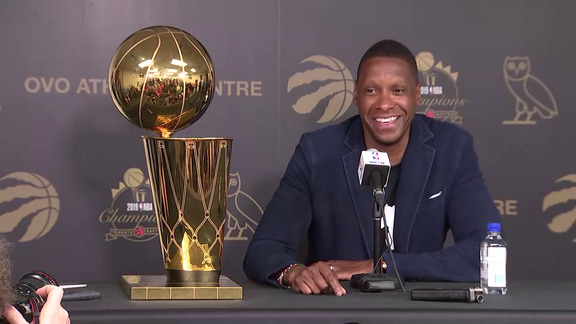 Masai Ujiri Press Conference - June 25, 2019