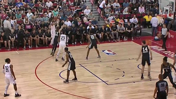 Raptors Summer League: Loyd 4 Point Play - July 8, 2019