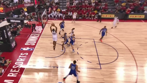 Raptors Summer League: Hernandez Alley Oop - July 9th, 2019