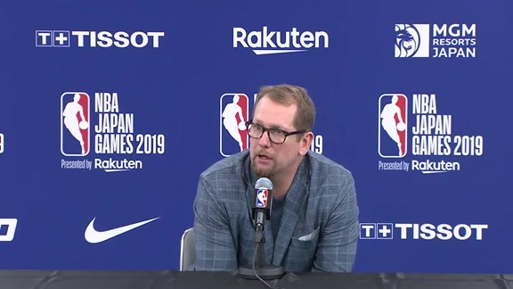 Raptors Post-Game: Nick Nurse - October 10, 2019