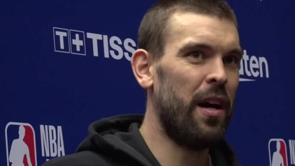 Raptors Post-Game: Marc Gasol - October 10, 2019