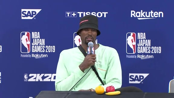 Raptors Post-Game: Serge Ibaka - October 10, 2019