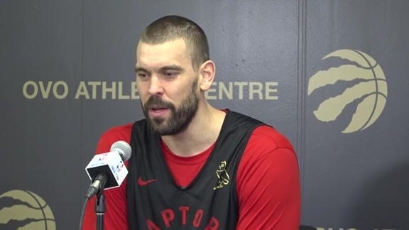 Raptors Practice: Marc Gasol - October 20, 2019