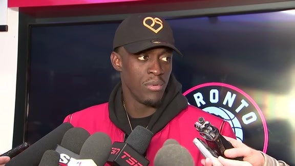 Raptors Post Game: Pascal Siakam - October 22, 2019