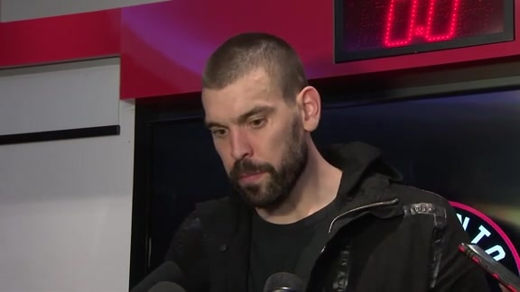 Raptors Post Game: Marc Gasol - October 22, 2019