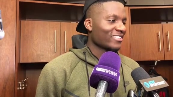Postgame Interviews: Clint Capela 01-10-18