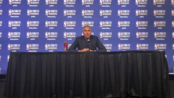 2018 NBA All-Star Postgame: Coach D'Antoni