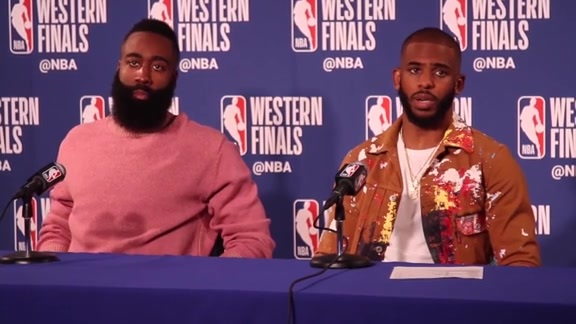 Postgame Interviews: Harden Paul 05-20-18