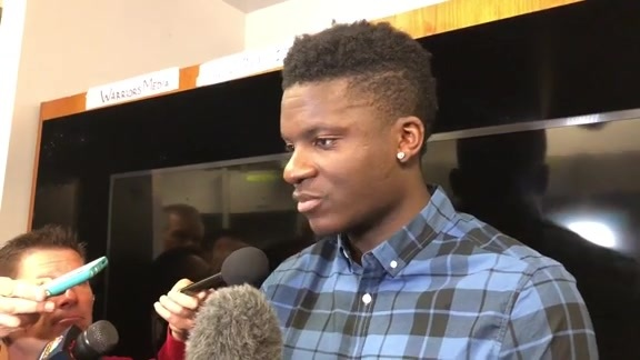 Postgame Interviews: Clint Capela 5-22-18