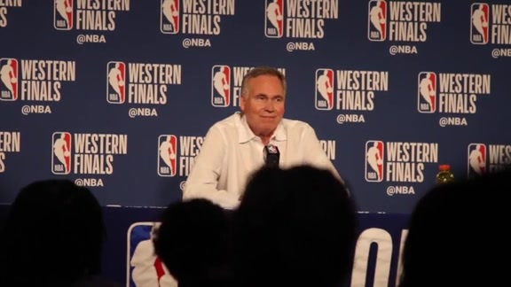 Postgame Interviews: Mike D'Antoni 5-22-18