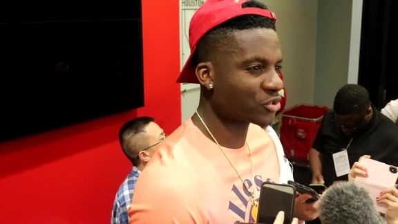 Postgame Interviews: Clint Capela 05-24-18