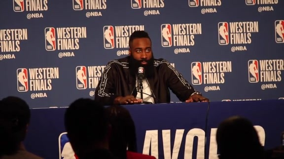 Postgame Interviews: James Harden 5-26-18