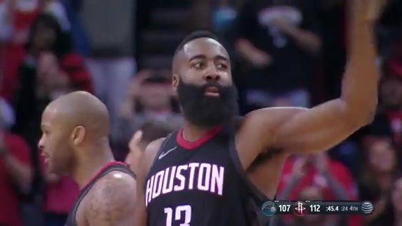 Rockets Awards: James Harden's 60PT Triple-Double
