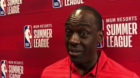 Coach Roy Rogers Interview:  Summer League Game 3
