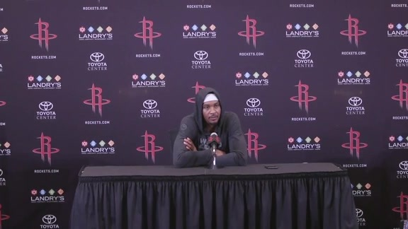 2018 ROCKETS MEDIA DAY: Carmelo Anthony