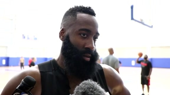 Training Camp 9/25/18: James Harden