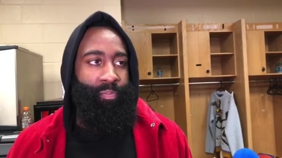 Postgame Interviews: James Harden 11-8-18