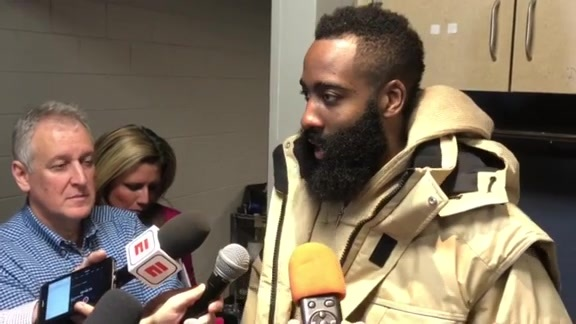 Postgame Interviews: James Harden 11-13-18