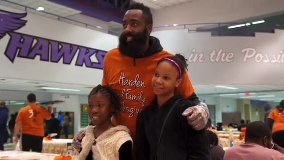 Harden and Family Thanksgiving