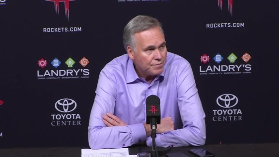 Postgame Interviews: Mike D'Antoni 12-11-18