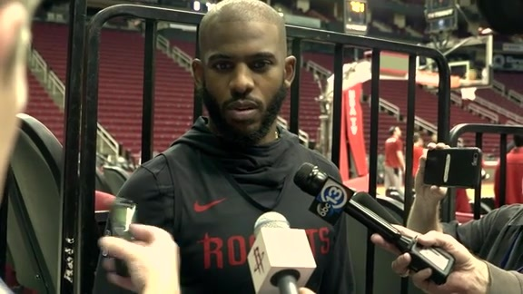 Practice 12/12/18: Chris Paul