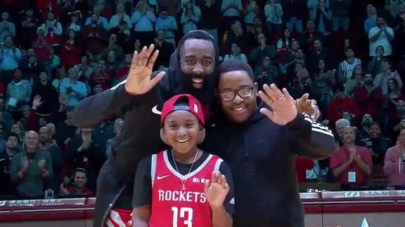 Houston Rockets & Make-A-Wish