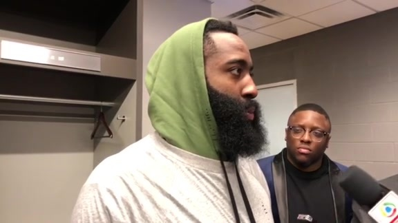 Postgame Interviews: James Harden 3-19-19